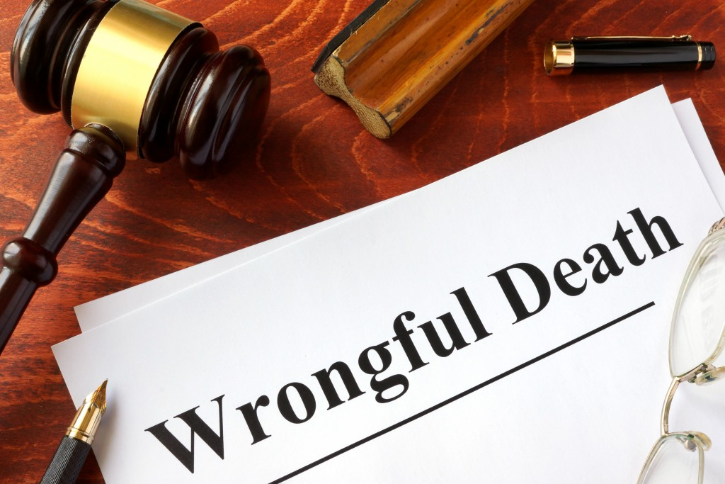 wronful death document