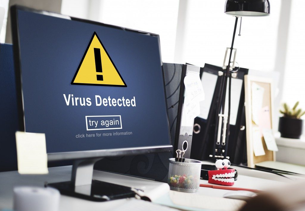 Virus detected on computer