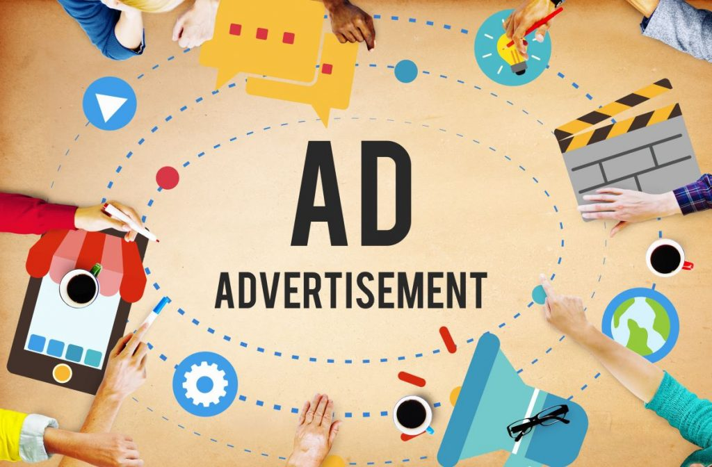 ad advertising concept