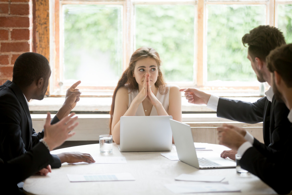 Workplace Discrimination concept