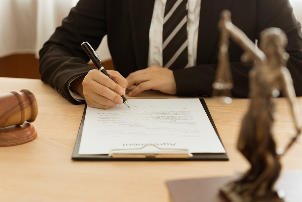 attorney concept
